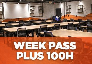Week Pass Plus 100h